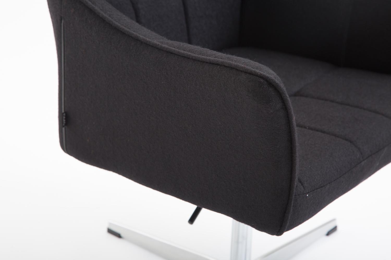 Fauteuil de bureau lounge jean à roulettes hauteur réglable