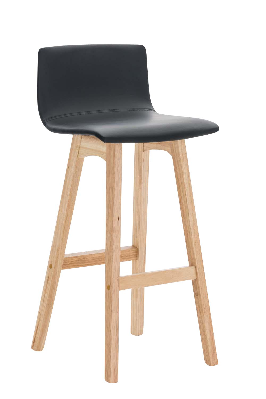barhocker taunus kunstleder thekenhocker tresenstuhl kautschukholz 4 beine ebay. Black Bedroom Furniture Sets. Home Design Ideas