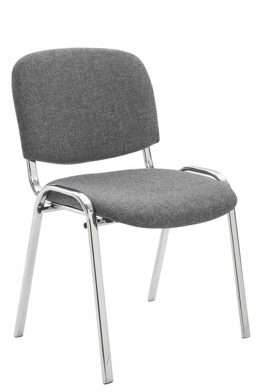 Détails sur Chaise visiteur KEN C en tissu chaise de conférence confortable et empilable
