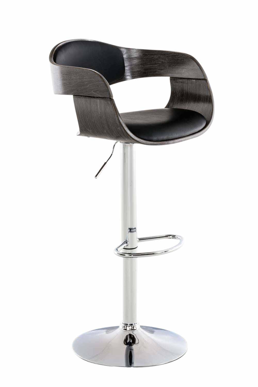 tabouret de bar r glable kingston similicuir chaise haute. Black Bedroom Furniture Sets. Home Design Ideas